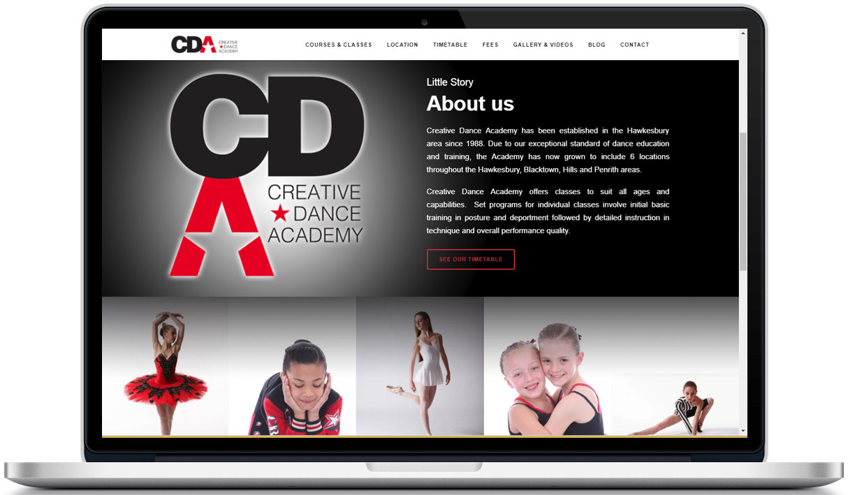 Web Design for CDA